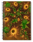 Summer's Last Sunflowers Spiral Notebook
