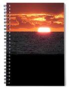 Sun Over Sea  Spiral Notebook