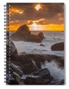 Sun Sets On Patrick's Point Spiral Notebook