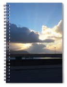 Sunbeams Over Conwy Spiral Notebook