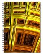 Sunflower Abstract Spiral Notebook