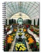 Sunken Garden Como Conservatory Spiral Notebook
