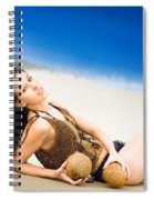 Sunlight Serenity Spiral Notebook
