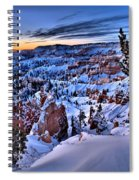 Sunrise At Bryce Spiral Notebook