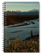 Sunrise On Mnt Denali, Trapper Creek Spiral Notebook