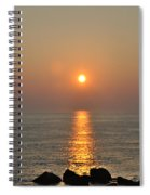 Sunrise On The Ocean Spiral Notebook