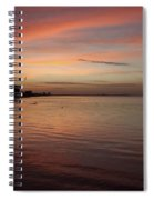 Sunrise Over Fort Myers Beach Photo Spiral Notebook