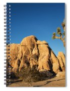 Sunset At Joshua Tree National Park Spiral Notebook
