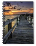Sunset At Wildcat Cove Spiral Notebook