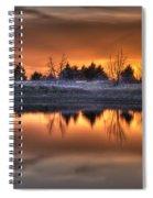 Sunset Over Bryzn Spiral Notebook
