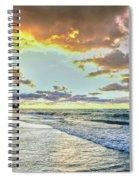 Sunset Over Lake Superior, Keweenaw Spiral Notebook