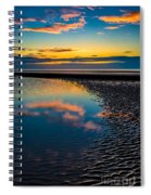 Sunset Reflections Spiral Notebook