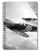 Supermarine Spitfire Mk I Spiral Notebook