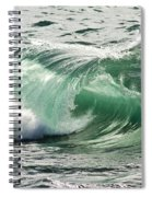 Surf Zone At The Barents Sea Coast Spiral Notebook