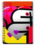 Sweet Heart Spiral Notebook