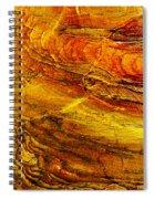 Sweet Potato Pie  Rock In Petra-jordan Spiral Notebook