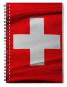 Swiss Flag Spiral Notebook