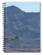 T-33 Shooting Star Flyby Nellis Spiral Notebook