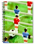 Table Football Spiral Notebook