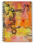 Tadpole Diagrams At Play Spiral Notebook