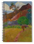 Tahitian Landscape Spiral Notebook
