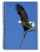 Take Off 2 Spiral Notebook
