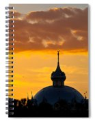 Tampa Bay Hotel Dome At Sundown Spiral Notebook