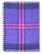 Tartan Pattern Spiral Notebook