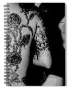 Tattoo Graffiti  Spiral Notebook