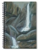 Tears Of The Moon Spiral Notebook