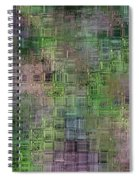 Technology Abstract Spiral Notebook