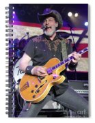 Ted Nugent Spiral Notebook