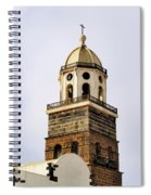 Teguise On Lanzarote Spiral Notebook