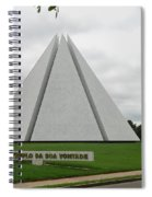 Temple Of Good Will Spiral Notebook