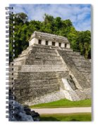 Temple Of Inscriptions Spiral Notebook