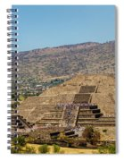 Temple Of The Moon Spiral Notebook