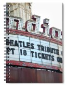 Terre Haute - Indiana Theater Spiral Notebook