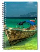 Thai Longboat Spiral Notebook