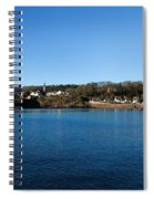Thatched Cottages, Dunmore Strand Spiral Notebook