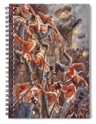 The 5th Division Storming By Escalade Spiral Notebook