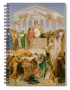 The Age Of Augustus The Birth Of Christ Spiral Notebook