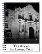 The Alamo Spiral Notebook