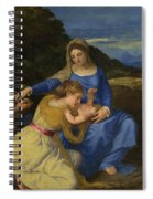 The Aldobrandini Madonna Spiral Notebook
