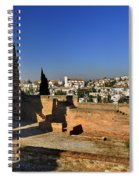 The Alhambra Palace Cubo Tower Spiral Notebook