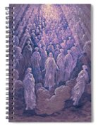 The Angels In The Planet Mercury Spiral Notebook
