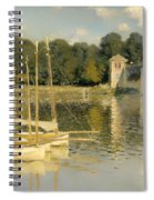The Argenteuil Bridge Spiral Notebook