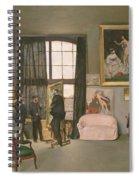The Artist's Studio Spiral Notebook
