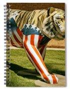 The Auburn Tiger Spiral Notebook