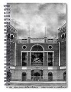 The Ballpark In Arlington Spiral Notebook