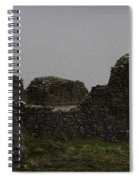 The Battered Remains Of The Urquhart Castle In Scotland Spiral Notebook
